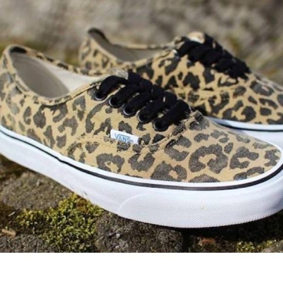 07fb72fb71 Vans Authentic Van Doren Leopard Print Sneaker. M 5b7ef2a11e2d2df05835da08